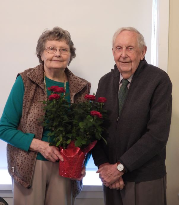 Verle and Frank Kaweski